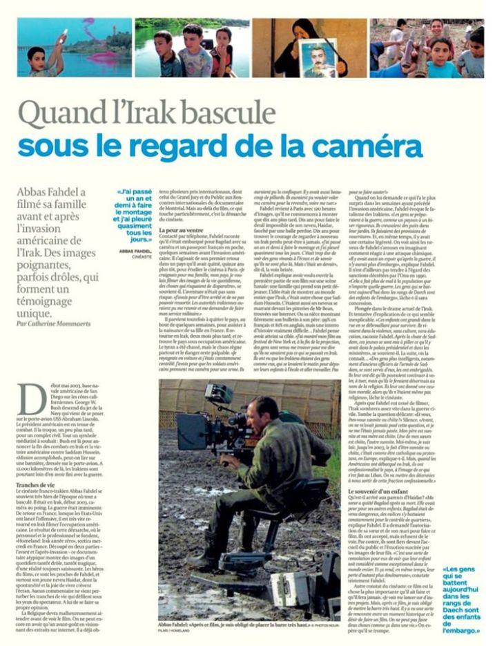 Dans le quotidien belge L'Echo