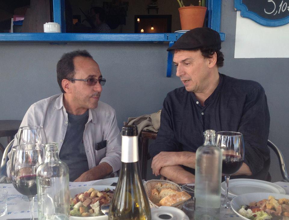 Abbas Fahdel à Lanzarote avec Jose Luis Guerin 2015