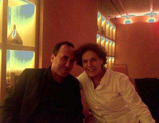 Carmen Castillo et Abbas Fahdel, New York 2015